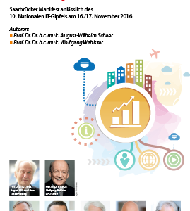 Saarbrücker Manifest anlässlich des 10. Nationalen IT-Gipfels am 16./17. November 2016