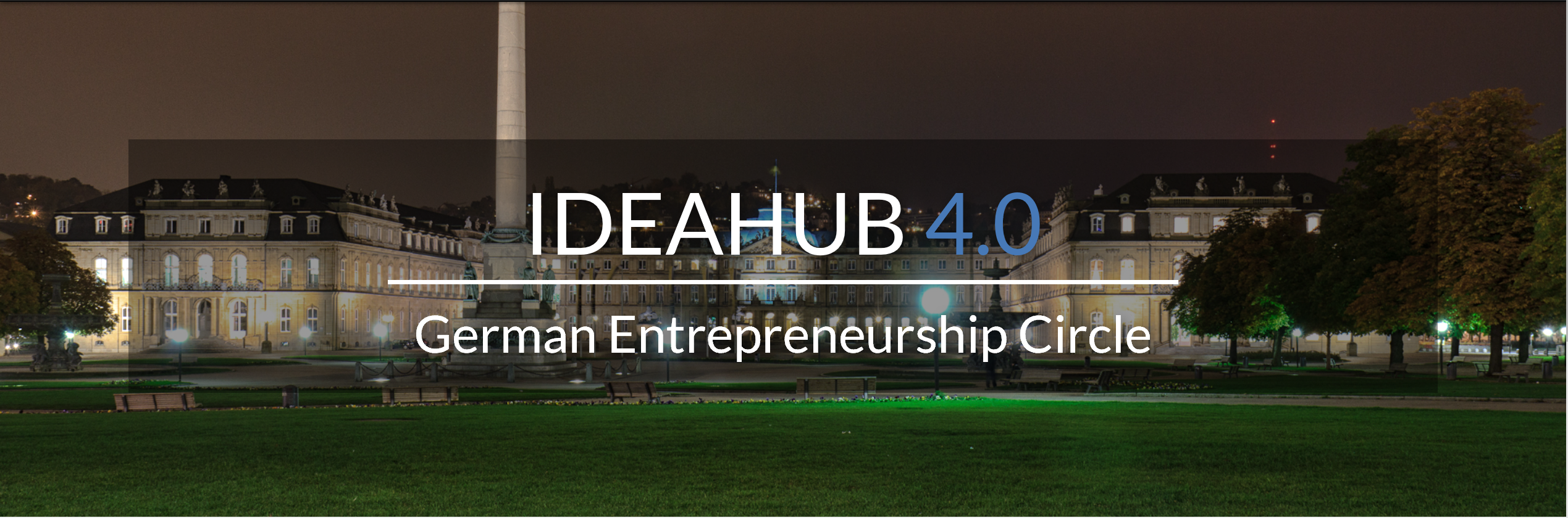 GEC IdeaHub 4.0 | 03-05 November 2017 Stuttgart