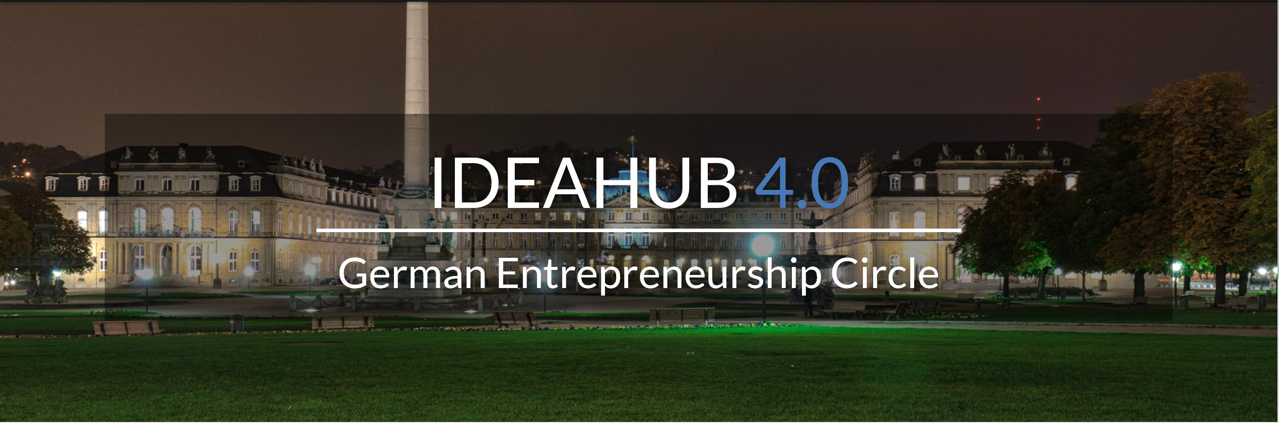 GEC IdeaHub 4.0 | 03-05 November 2017 Stuttgart